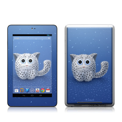 Google Nexus 7 Tablet Skin - Snow Leopard