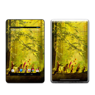 Google Nexus 7 Tablet Skin - Secret Parade