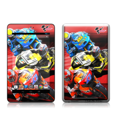 Google Nexus 7 Tablet Skin - Speed Collage