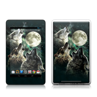 Google Nexus 7 Tablet Skin - Three Wolf Moon