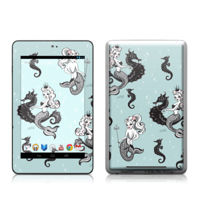 Google Nexus 7 Tablet Skin - Vintage Mermaid
