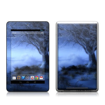 Google Nexus 7 Tablet Skin - World's Edge Winter