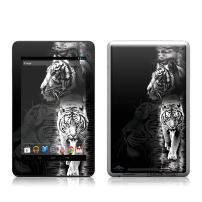 Google Nexus 7 Tablet Skin - White Tiger