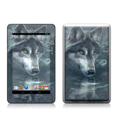 Google Nexus 7 Tablet Skin - Wolf Reflection