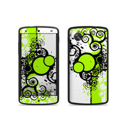 Google Nexus 5 Skin - Simply Green