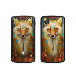 Google Nexus 5 Skin - Wise Fox