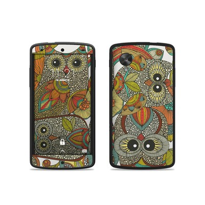 Google Nexus 5 Skin - 4 owls