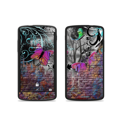 Google Nexus 5 Skin - Butterfly Wall