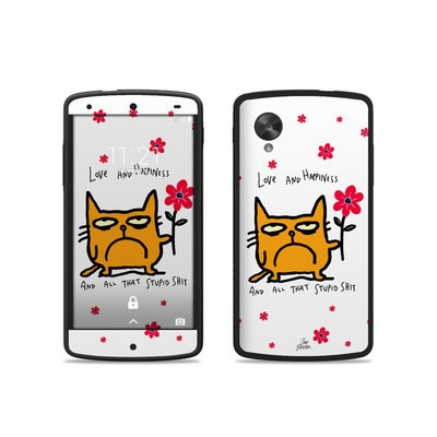 Google Nexus 5 Skin - Catwad Happy