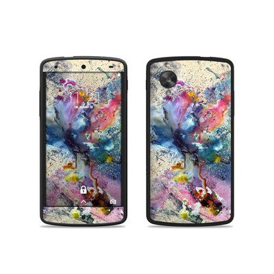 Google Nexus 5 Skin - Cosmic Flower