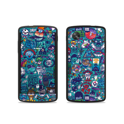 Google Nexus 5 Skin - Cosmic Ray