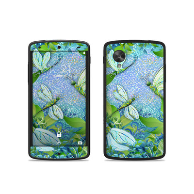 Google Nexus 5 Skin - Dragonfly Fantasy