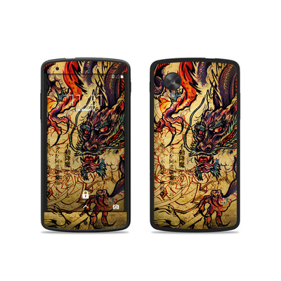 Google Nexus 5 Skin - Dragon Legend