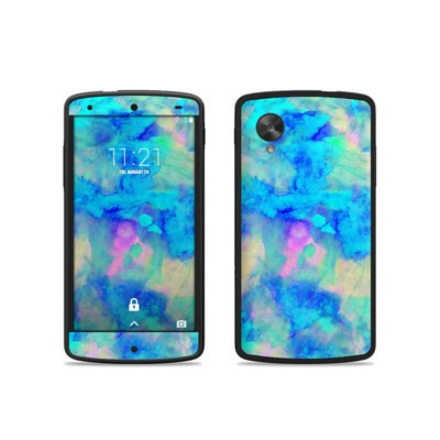Google Nexus 5 Skin - Electrify Ice Blue