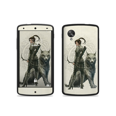 Google Nexus 5 Skin - Half Elf Girl
