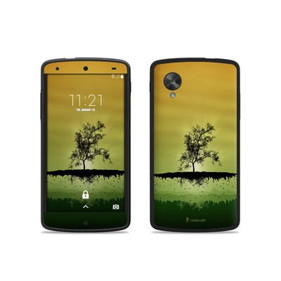 Google Nexus 5 Skin - Flying Tree Amber