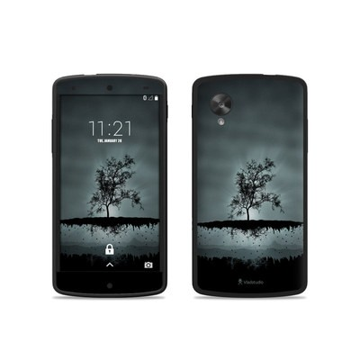 Google Nexus 5 Skin - Flying Tree Black