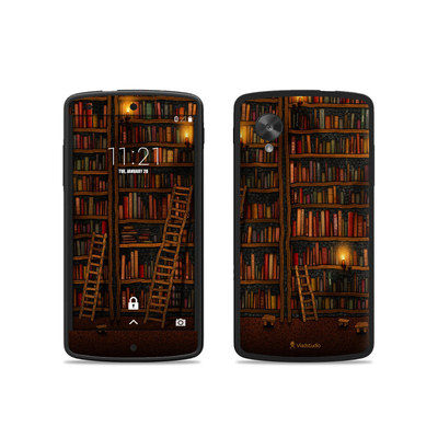 Google Nexus 5 Skin - Library