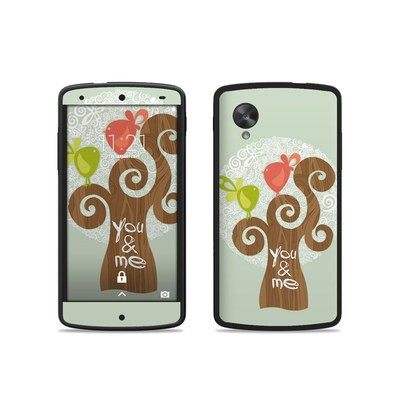 Google Nexus 5 Skin - Two Little Birds