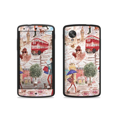 Google Nexus 5 Skin - London