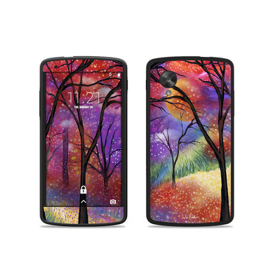 Google Nexus 5 Skin - Moon Meadow