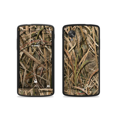 Google Nexus 5 Skin - Shadow Grass Blades
