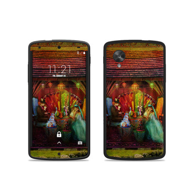 Google Nexus 5 Skin - A Mad Tea Party