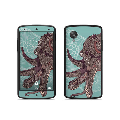 Google Nexus 5 Skin - Octopus Bloom