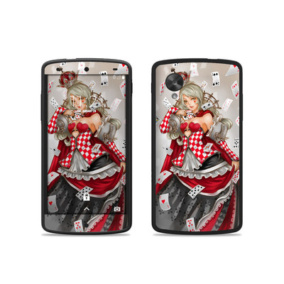 Google Nexus 5 Skin - Queen Of Cards