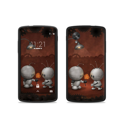 Google Nexus 5 Skin - Robots In Love