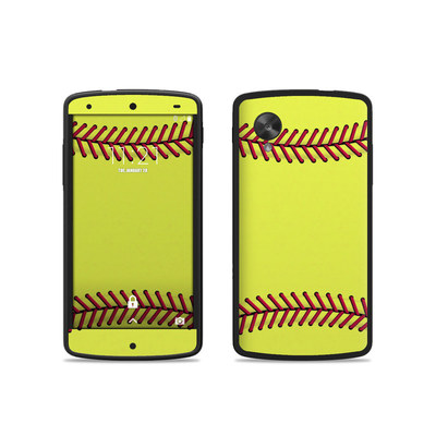 Google Nexus 5 Skin - Softball