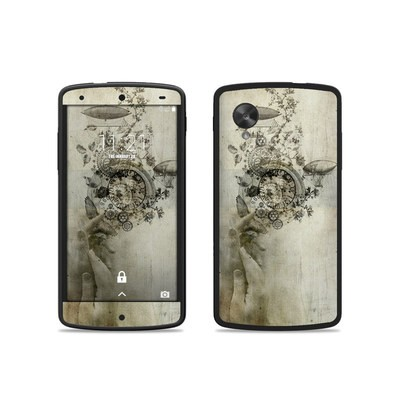 Google Nexus 5 Skin - Steamtime