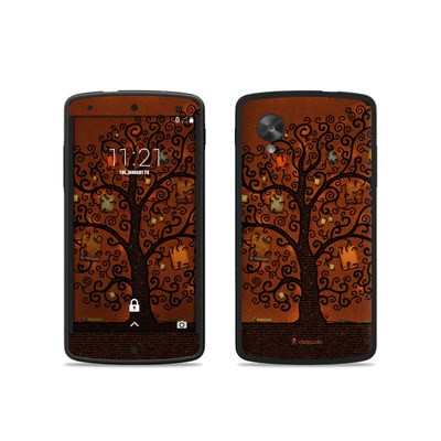 Google Nexus 5 Skin - Tree Of Books