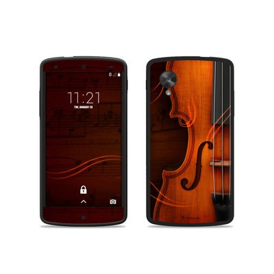 Google Nexus 5 Skin - Violin