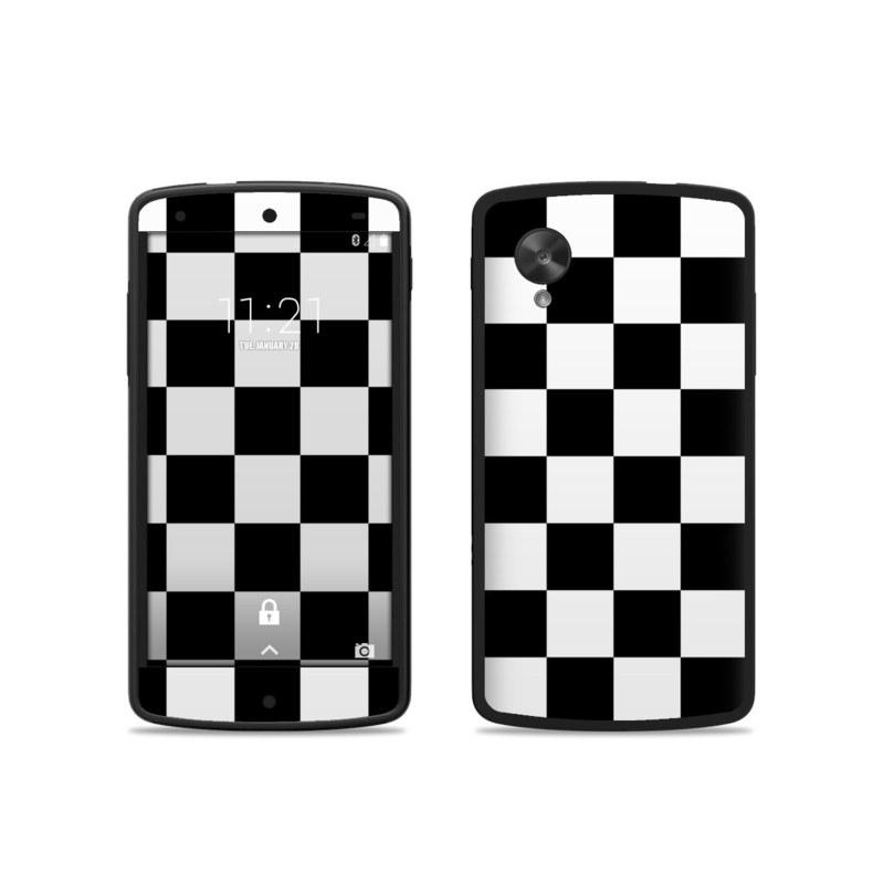 nexus 5 skin template - google nexus 5 skin checkers by retro decalgirl