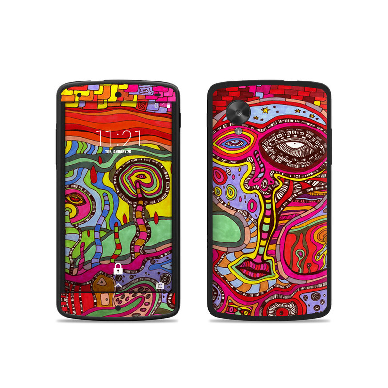 nexus 5 skin template - google nexus 5 skin the wall by ccambrea decalgirl