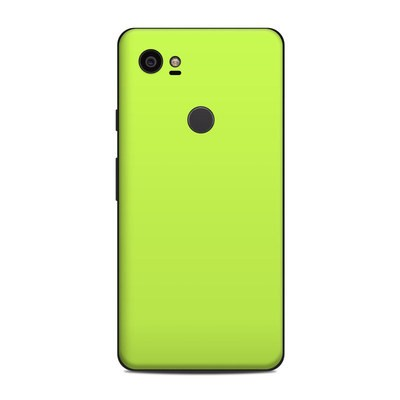 Google Pixel 2 XL Skin - Solid State Lime