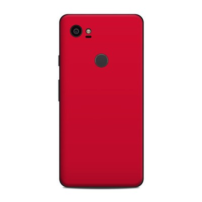 Google Pixel 2 XL Skin - Solid State Red