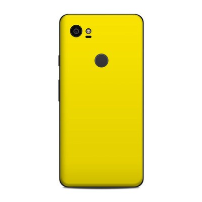 Google Pixel 2 XL Skin - Solid State Yellow