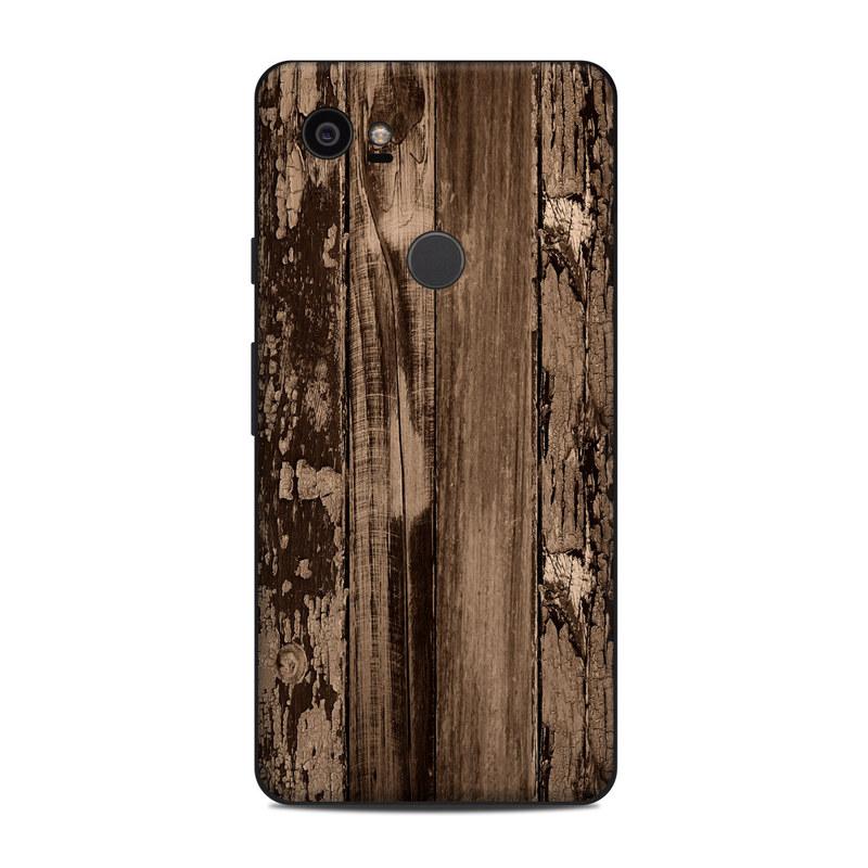 online store b1817 9fd74 Google Pixel 2 XL Skin - Weathered Wood