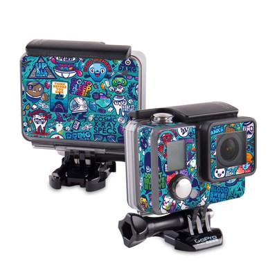 GoPro Hero 2014 Skin - Cosmic Ray