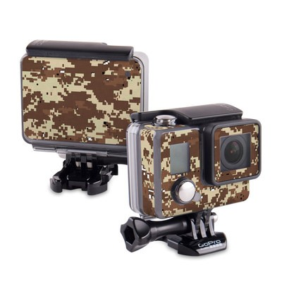 GoPro Hero 2014 Skin - Digital Desert Camo