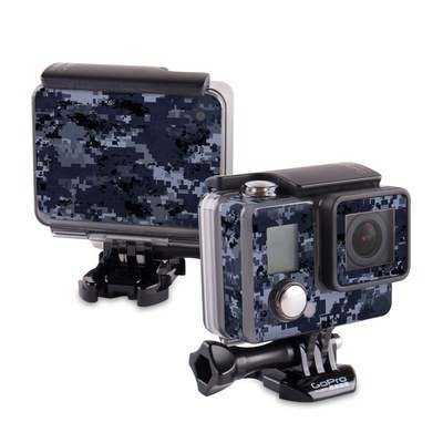 GoPro Hero 2014 Skin - Digital Navy Camo