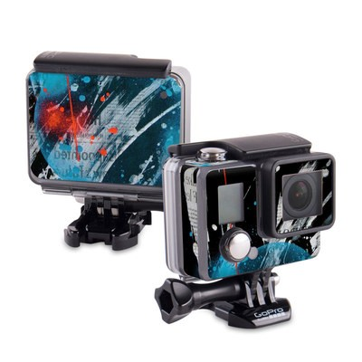 GoPro Hero 2014 Skin - Element-Ocean