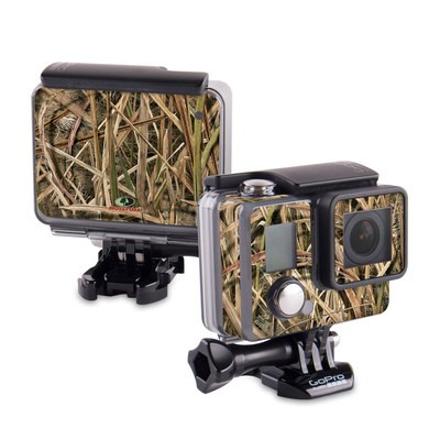 GoPro Hero 2014 Skin - Shadow Grass Blades