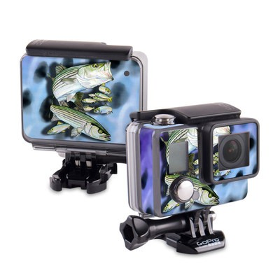 GoPro Hero 2014 Skin - Striped Bass