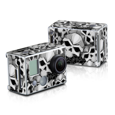 GoPro HD Hero2 Skin - Bones