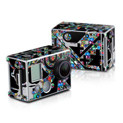 GoPro HD Hero2 Skin - Circle Madness