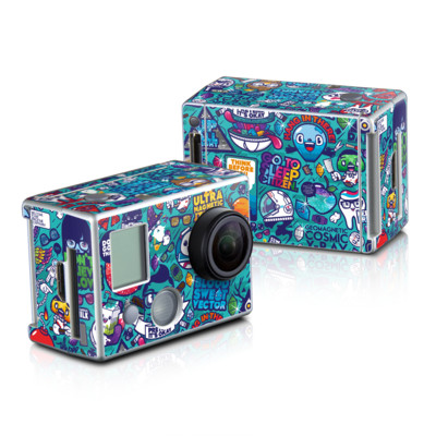 GoPro HD Hero2 Skin - Cosmic Ray