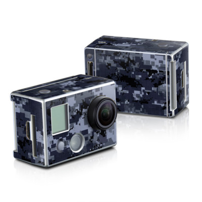 GoPro HD Hero2 Skin - Digital Navy Camo